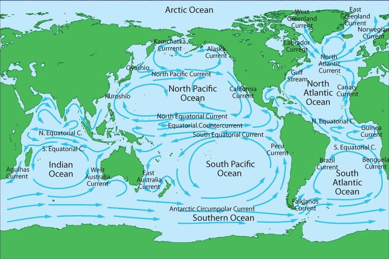 Ocean Currents Ocean Pro Weather Gulf Stream Current